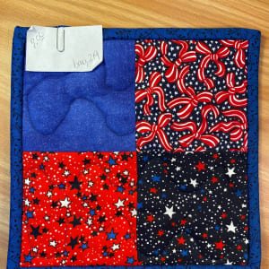 4th of July Potholder by Betty Gruber