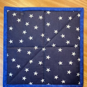 4th of July Pot Holder by Betty Gruber