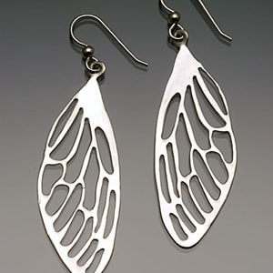 Small Dragonfly Earrings (2 pairs) by Georgia Weithe