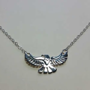 Flying Eagle Necklace by Georgia Weithe