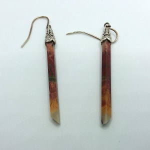 Quartz Stick Earrings by Judi Werner