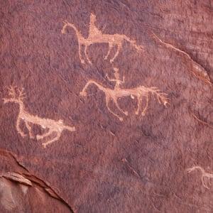 Rock Art (Framed photograph) by Bob Leggett