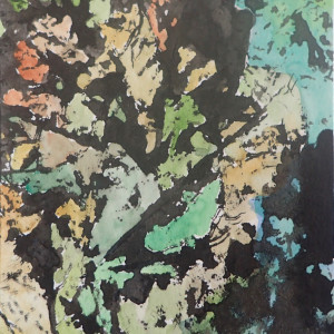 Gathered leaves #7 by CLARE SMITH