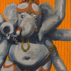 Ganesh by Anne KM Ross