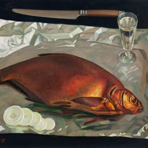 Smoked Bream by Mikhail Salmov