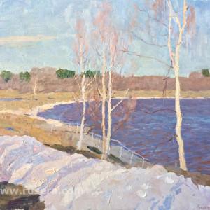 Spring by Vasily Hudyakov