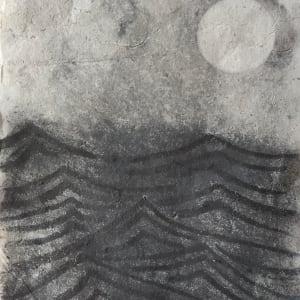 Moon at sea
