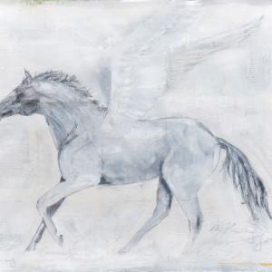 Winged horse