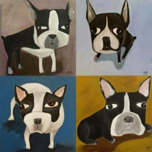 French Bulldog Series 法鬥系列 by Anchana CHAREEAPAPORN 安恰娜‧恰麗亞琵朋