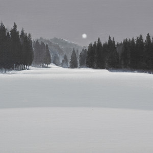 Serenity 寧靜的月 by 傅作新 Fu Tso-Hsin