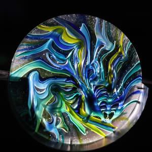 Metamorfosen by Linda van Huffelen  Image: Metamorfosen - glasplaat