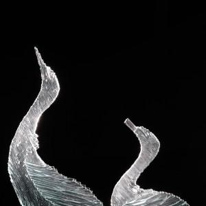 Ruffle my feathers II by Linda van Huffelen