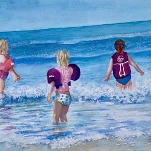 Little Girls, Little Waves