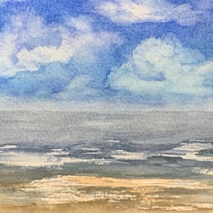 Ocean's Clouds by Rebecca Zdybel