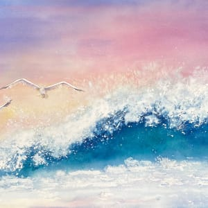Wings & Waves - For Heidi by Rebecca Zdybel