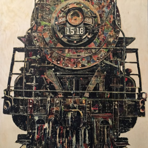 Untitled (Black Train)