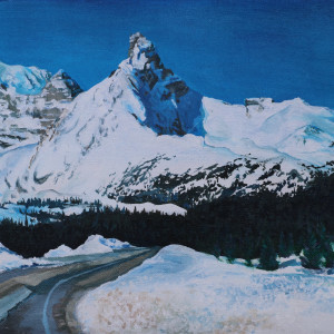 Hilda peak 2019 9x11in acrylic ggqfc3