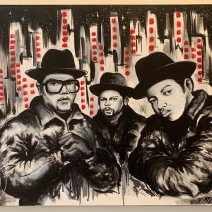 "Run DMC - ""Kings of New York"" by Milton Madison"