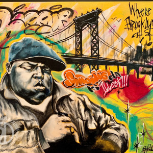 """Notorious B.I.G. - """"Who The F*ck Is This?"""" by Milton Madison"""