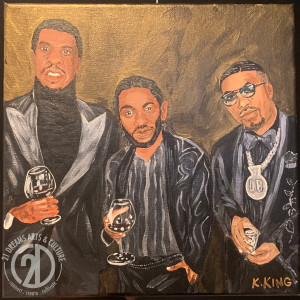 Jay Z - Kendrick - Nas by Kevin King