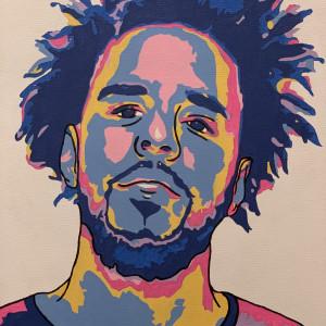 J. Cole by Cierra Brinson