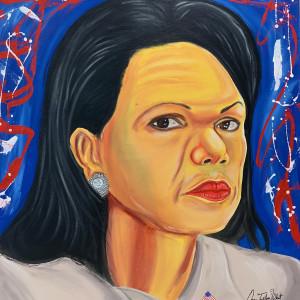 """Condoleezza Rice by Oscar """"Trill Jay"""" Wheat"""