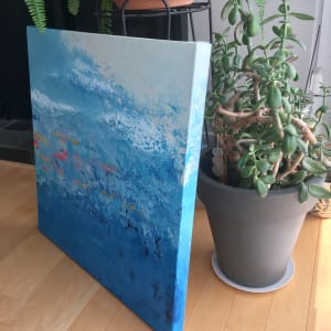 Drifting (diptych) by Julea Boswell