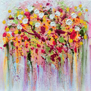Say it with Flowers no.1-2-3-4 by Julea Boswell Art