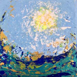 Sun and Sea no.4 by Julea Boswell Art