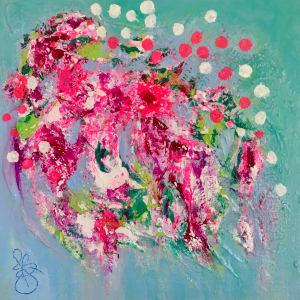 Chintz no.3 by Julea Boswell