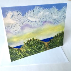 "Note Cards (6 pack) - ""Let's Meet at the Beach"""