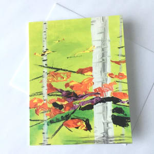 "Note Cards (6 pack) - ""Awesome October"""