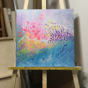 Bursts of Blooming Joy by Julea Boswell