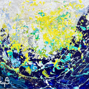 Surf  Energy 1-2-3-4-5-6 by Julea Boswell Art  Image: no.6