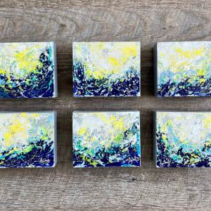 Surf  Energy 1-2-3-4-5-6 by Julea Boswell Art