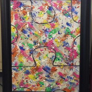 PUZZLED BY POLLOCK  - 50%-off ($75.00 through 12-21-19. Shipping not included- TBA).