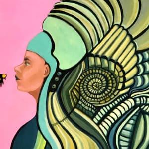The Bee Keeper by Judith Estrada Garcia