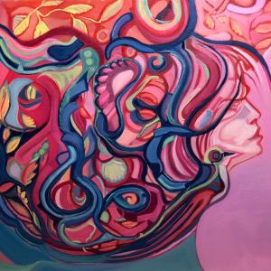 The Chaos makes me beauty by Judith Estrada Garcia