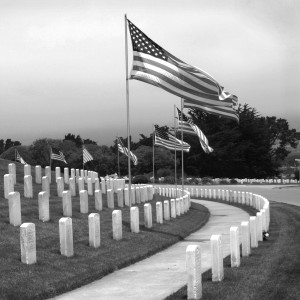 The Fallen Golden Gate National Cemetery by Wes Odell
