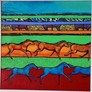 Running Free by Judith Estrada Garcia