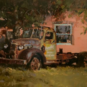 Parolek Garage and Machine Shop - Taos, NM by Lyn Boyer