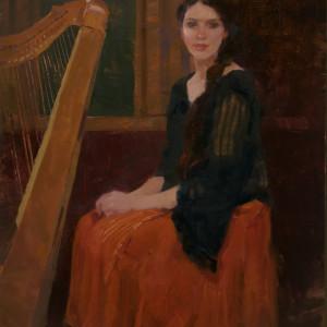 The Harpist by Lyn Boyer