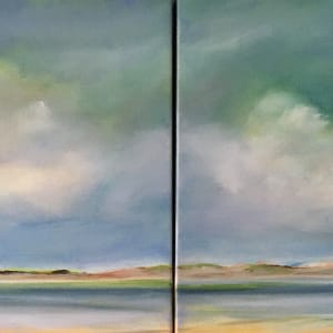 Walk with me (diptych) by Marston Clough