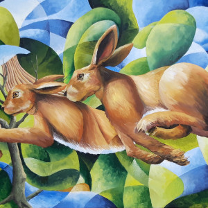 Two hares gtc5kx