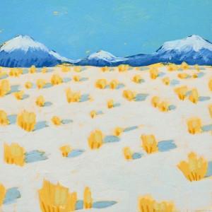 Adobe Farm: Snow by Layla Luna