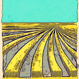Wheat Poster by Layla Luna