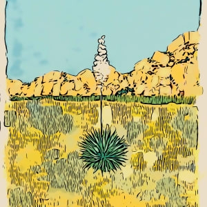 Yucca Poster by Layla Luna