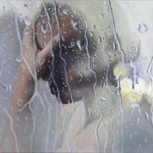 Casey thornton rainstorm oil on canvas 70x50cm 2019 signature 7 o1ok1g