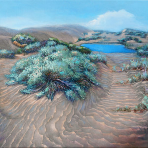 Sage on Desert Waves