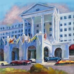 The Greenbrier Flags by Pat Cross